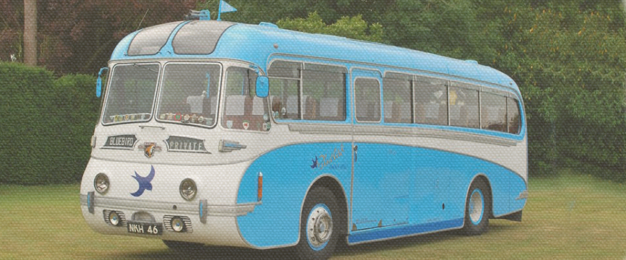 1952 Leyland Tiger Bluebird Coach